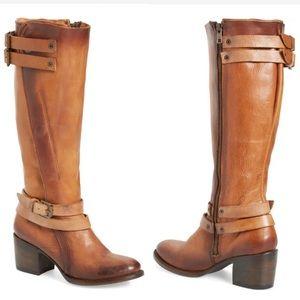 Freebird by Steven Clive cognac boots 8